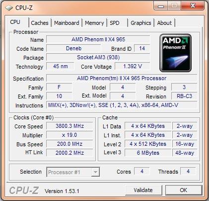 Upgraded Pc Love Amd S Phenom Ii X4 965 Black Edition Wade One